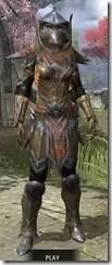 Dark Elf Dwarven - Khajiit Female Front
