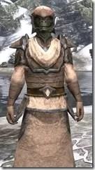 Dark Elf Homespun - Argonian Male Robe Close Front