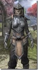 Dark Elf Iron - Khajiit Female Close Front