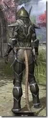 Dark Elf Orichalc - Khajiit Female Rear
