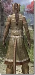 Deepwoods Pod-Singer Tunic Khajiit Female Close Rear