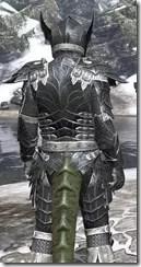 Ebony Iron - Argonian Male Close Rear