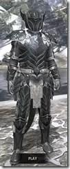 Ebony Iron - Argonian Male Front