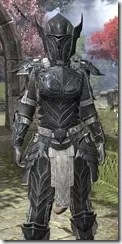 Ebony Iron - Khajiit Female Close Front