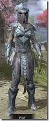 Glass Iron - Khajiit Female Front