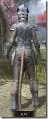 Glass Iron - Khajiit Female Rear