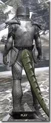 High Elf Steel - Argonian Male Rear