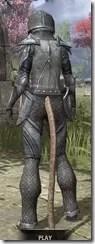 High Elf Steel - Khajiit Female Rear
