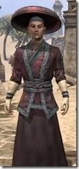 Honor Guard Ancestor Silk - Male Robe Close Front