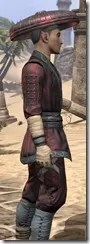 Honor Guard Ancestor Silk - Male Shirt Close Side