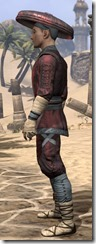 Honor Guard Ancestor Silk - Male Shirt Side
