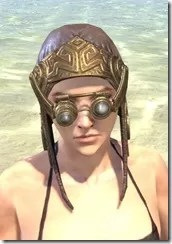 Imperial Mananaut Cap & Goggles - Female Front