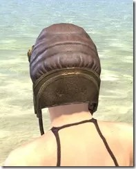 Imperial Mananaut Cap & Goggles - Female Rear