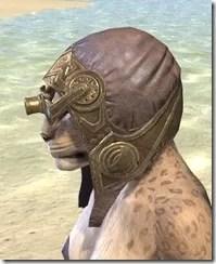 Imperial Mananaut Cap & Goggles - Khajiit Female Side