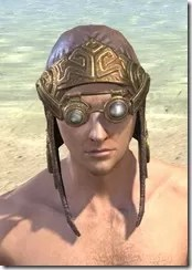 Imperial Mananaut Cap & Goggles - Male Front