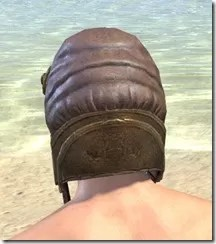 Imperial Mananaut Cap & Goggles - Male Rear