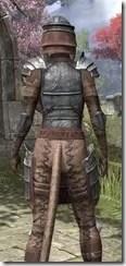 Imperial Steel - Khajiit Female Close Rear