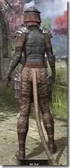 Imperial Steel - Khajiit Female Rear