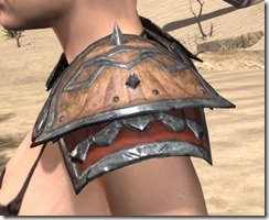Lyris Titanborn's Pauldrons - Female Side