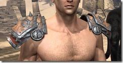 Lyris Titanborn's Pauldrons - Male Front
