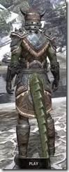 Malacath Iron - Argonian Male Rear