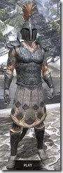Order of the Hour Iron - Argonian Male Front
