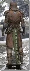 Outlaw Rawhide - Argonian Male Rear