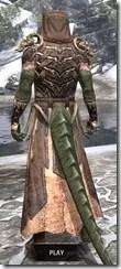 Primal Homespun - Argonian Male Robe Rear