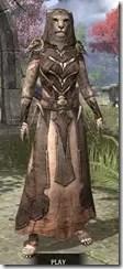 Primal Homespun - Khajiit Female Robe Front
