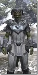 Redguard Iron - Argonian Male Close Front