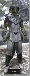 Redguard Iron - Argonian Male Front
