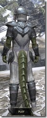 Redguard Iron - Argonian Male Rear
