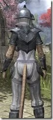 Redguard Iron - Khajiit Female Close Rear