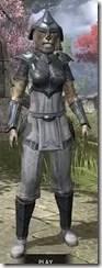 Redguard Iron - Khajiit Female Front