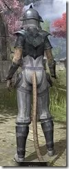 Redguard Iron - Khajiit Female Rear