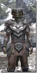 Redguard Steel - Argonian Male Close Front