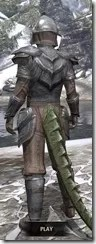 Redguard Steel - Argonian Male Rear