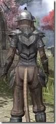 Redguard Steel - Khajiit Female Close Rear