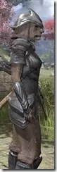 Redguard Steel - Khajiit Female Close Side