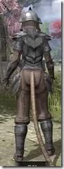 Redguard Steel - Khajiit Female Rear
