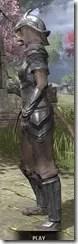 Redguard Steel - Khajiit Female Side