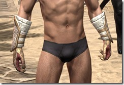 Sai Sahan's Bracers - Male Front