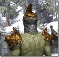 Stonekeeper - Argonian Male Rear