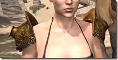 Stonekeeper Pauldrons - Female Front