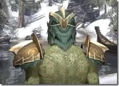 Symphony of Blades - Argonian Male Rear