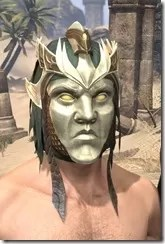 Symphony of Blades Visage - Male Front