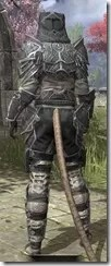 Thieves Guild Iron - Khajiit Female Rear