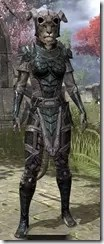 Wood Elf Orichalc - Khajiit Female Front