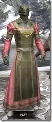 Bardic Tavern Singer's Dress Argonian Male Front