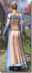Bardic Tavern Singer's Dress Dyed Rear